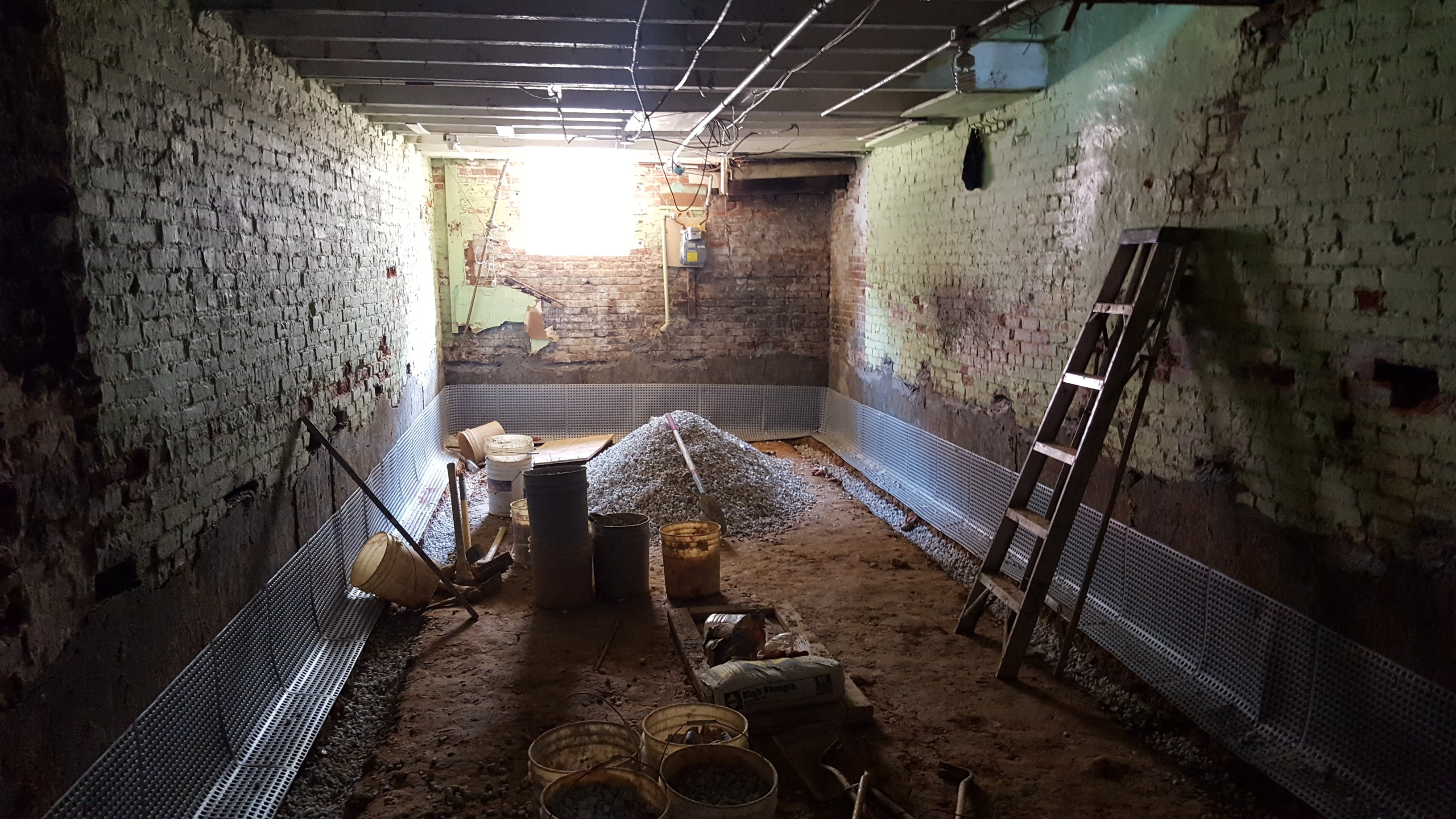 Digging Basements Adding New Height To Low Ceilings By - Digging basement cost