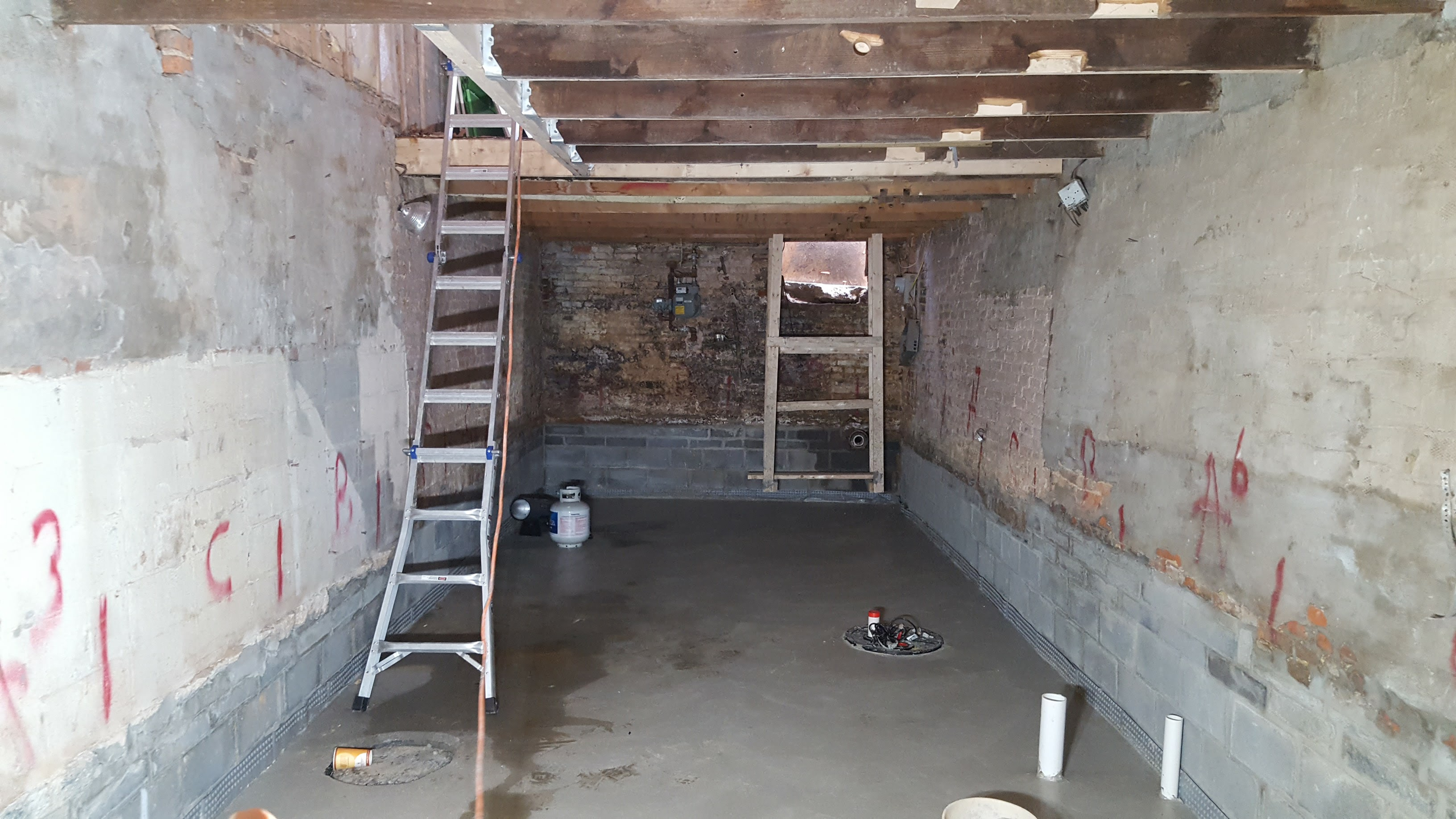 Cost to pour concrete basement floor best interior 2018 for Poured concrete basement cost